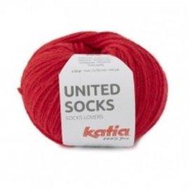 Katia United Socks 16 Rood
