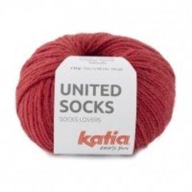 Katia United Socks 18 Aarbei