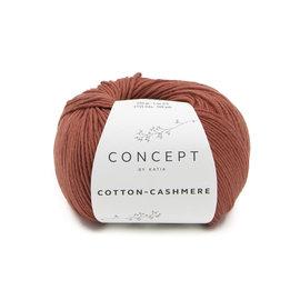 Katia Cotton Cashmere 74 Roestbruin