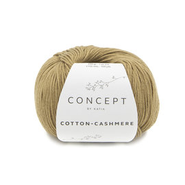 Katia Cotton Cashmere 75 Lichtbruin