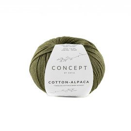 Katia Cotton Alpaca 101 Kaki