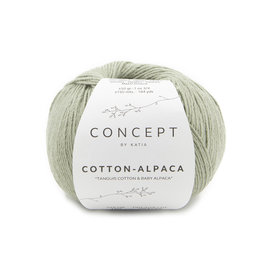 Katia Cotton Alpaca 103 Groen