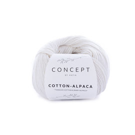 Katia Cotton Alpaca 80 Wit