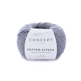 Katia Cotton Alpaca 84 Grijs