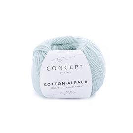 Katia Cotton Alpaca 95 Witgroen