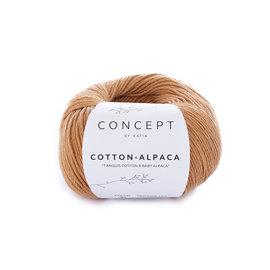 Katia Cotton Alpaca 98 Leembruin