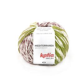 Katia Mediterranea 301 Pistache-Aubergine-Oranje