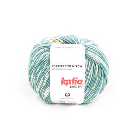 Katia Mediterranea 303 Groenblauw-Groen