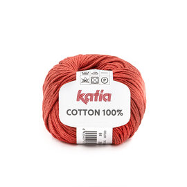 Katia Cotton 100% 64 Roest