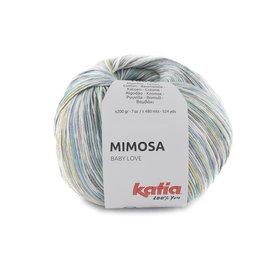 Katia Mimosa 302 Blauw-Lichtgeel