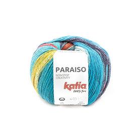 Katia Paraiso 107 Groen-Blauw-Rood-Geel-Donkerblauw