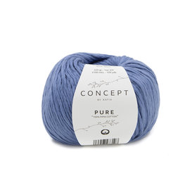 Katia Pure 82 Blauw
