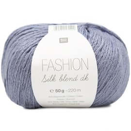 Rico Silk Blend DK 16 Blue
