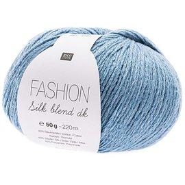 Rico Silk Blend DK 21 Light Blue