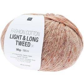 Rico Cotton Light & Long Tweed Zalm