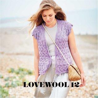 Rico Cotton Light & Long Tweed Lila
