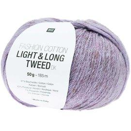 Rico Cotton Light & Long Tweed Purple