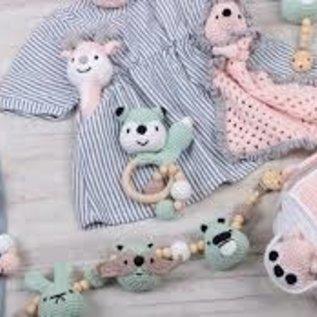 Little Woodland Adventures Haakpakket DenDennis Babyspeeltjes Mint of Roos