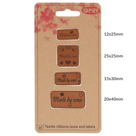 Skai-Leren Labels Made by oma