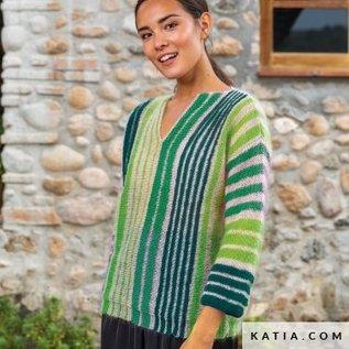 Katia Gratis breipatroon  shades trui