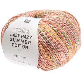 Rico Lazy Hazy Summer Cotton 011 Flamingo