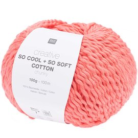 Rico So Cool  So Soft Cotton Chunky 017 Melon