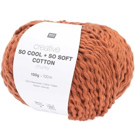 Rico So Cool  So Soft Cotton Chunky 019 Brown
