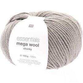 Rico Mega Wool Chunky 28 Steingrau