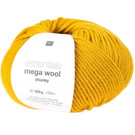 Rico Mega Wool Chunky 6 Mosterd