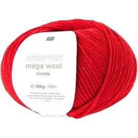 Rico Mega Wool Chunky 9 Rood