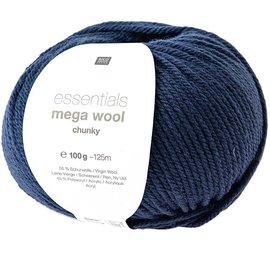 Rico Mega Wool Chunky 12 Blauw