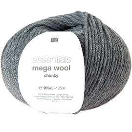 Rico Mega Wool Chunky 14 Grijs