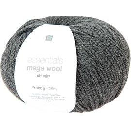 Rico Mega Wool Chunky 15 Antraciet