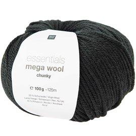 Rico Mega Wool Chunky 16 Zwart