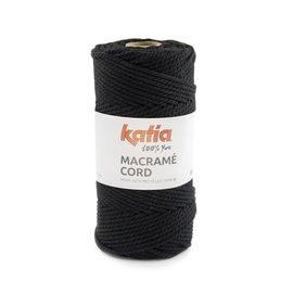Katia Macramé Cord 119 Zwart