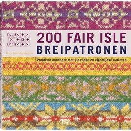 Haakboek  200 Fair Isle Breipatronen