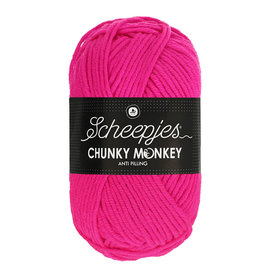 Scheepjes Chunky Monkey 1257 Hot Pink