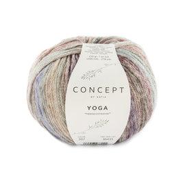 Katia Yoga 207 Turquoise-Bruin-Fuchsia