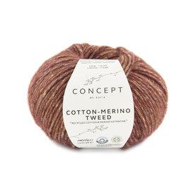 Katia Cotton Merino Tweed 500 Rood