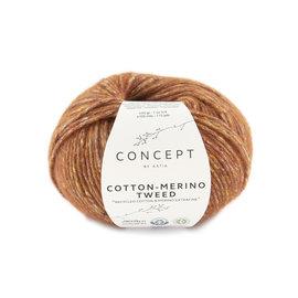 Katia Cotton Merino Tweed 501 Roest