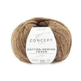 Katia Cotton Merino Tweed 505 Bruin
