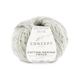 Katia Cotton Merino Tweed 506 Grijs