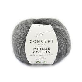 Katia Mohair Cotton 71 Grijs