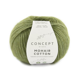 Katia Mohair Cotton 78 Resedagroen