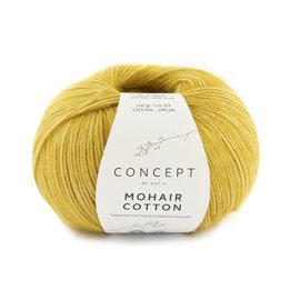 Katia Mohair Cotton 79 Mosterdgeel