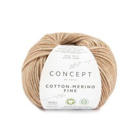 Katia Cotton Merino Fine 81 Lichtbruin