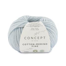 Katia Cotton Merino Fine 85 Hemelsblauw