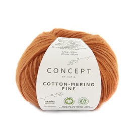 Katia Cotton Merino Fine 90 Oranje
