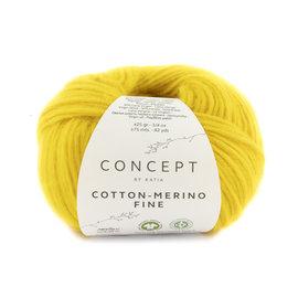 Katia Cotton Merino Fine 91 Geel