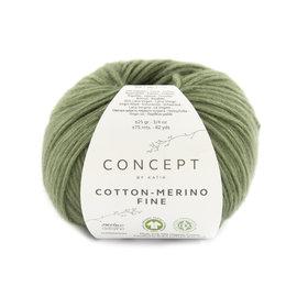 Katia Cotton Merino Fine 92 Lichtgroen